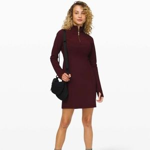 NWT LULULEMON DEFINE DRESS GARNET
